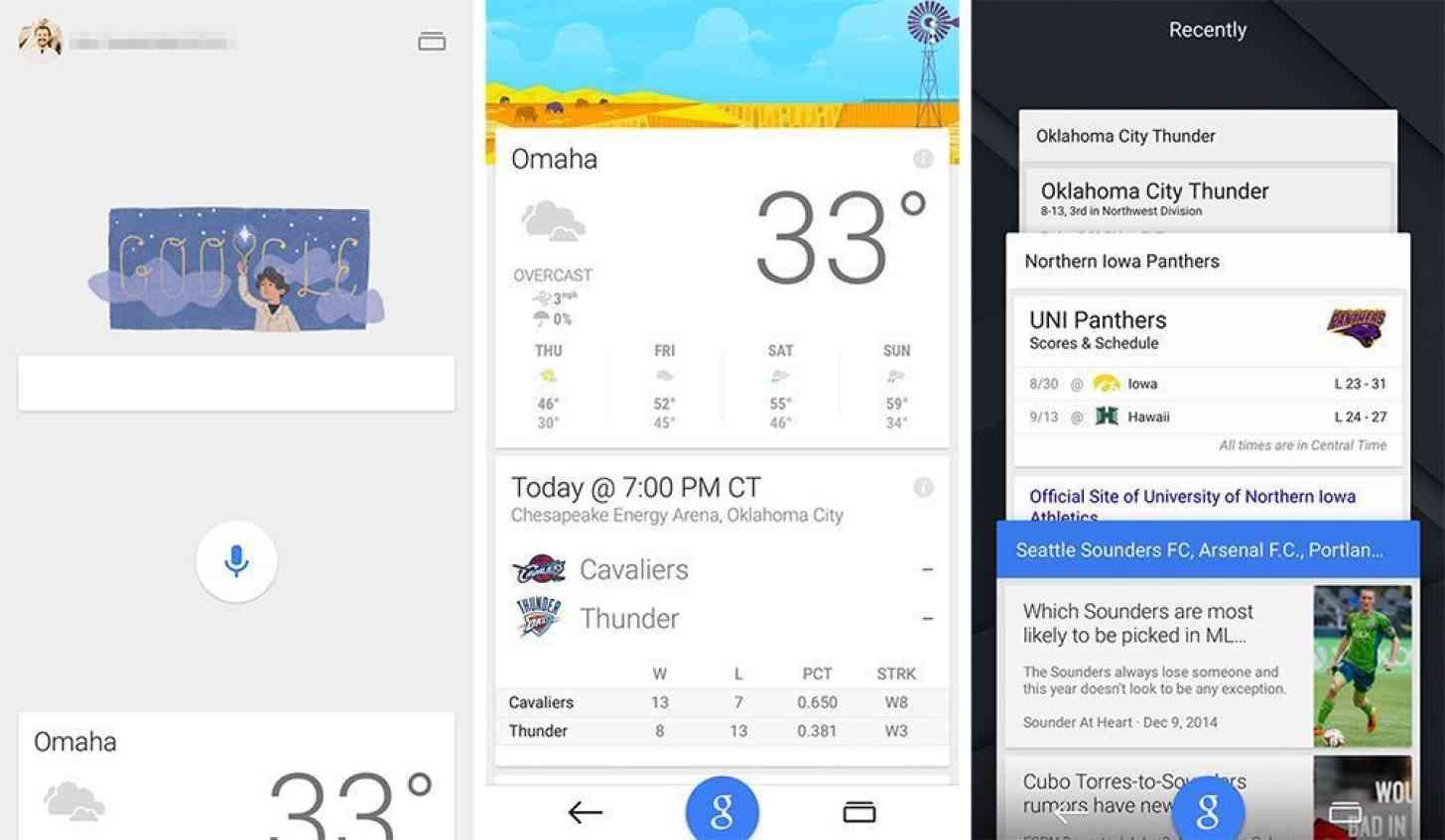 Google app iOS Material Design update