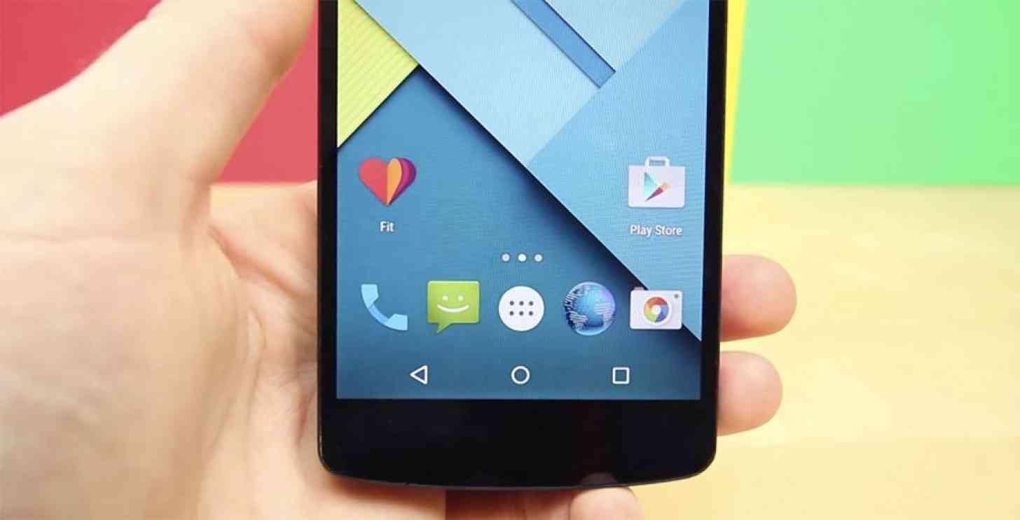 Google Fit app Nexus 5