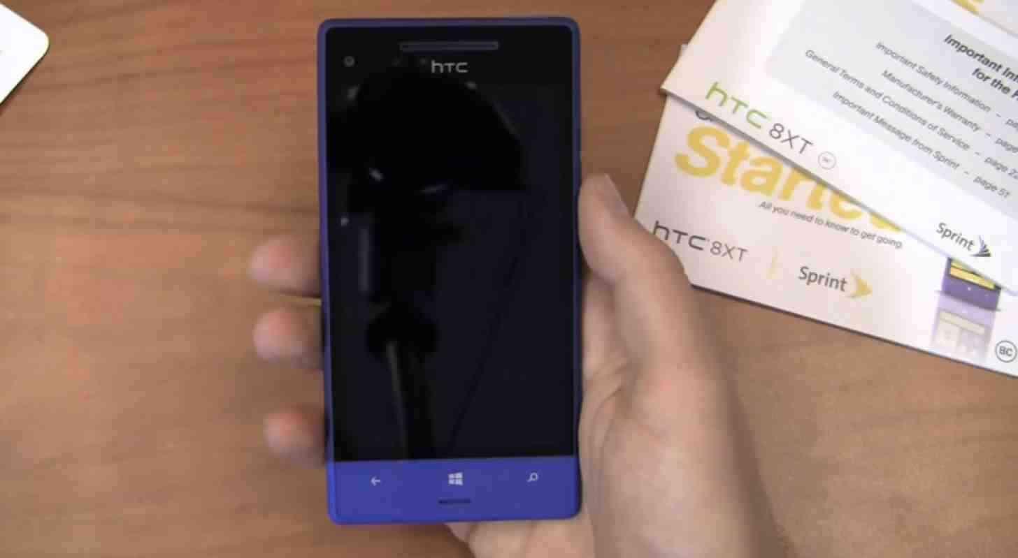HTC 8XT Windows Phone hands on