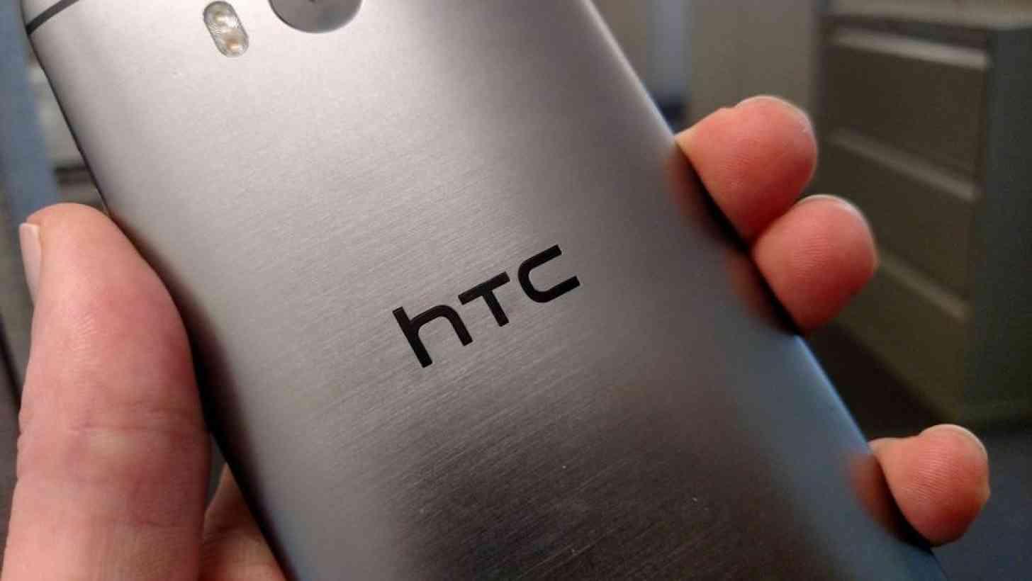 HTC One M8 rear