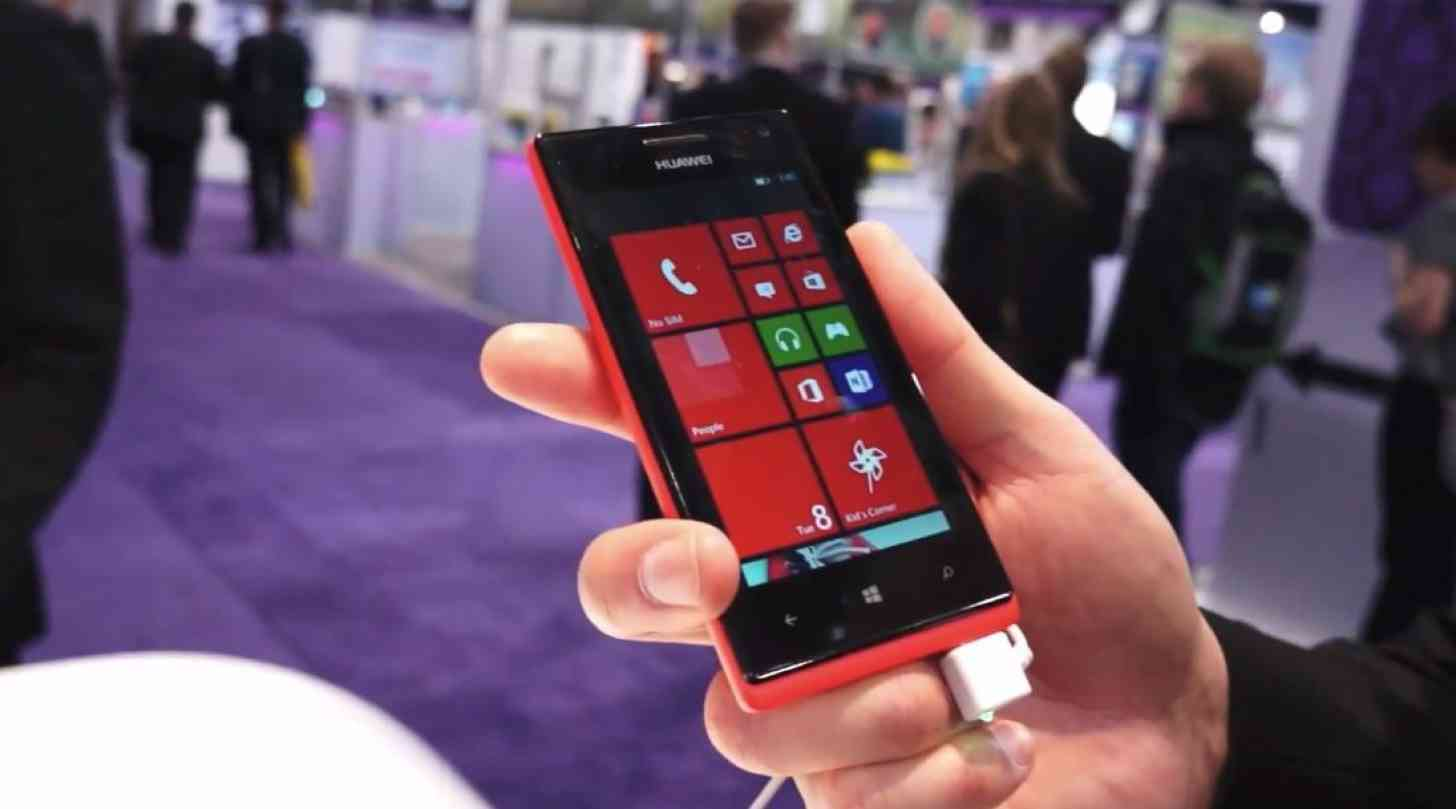 Huawei W1 Windows Phone hands on