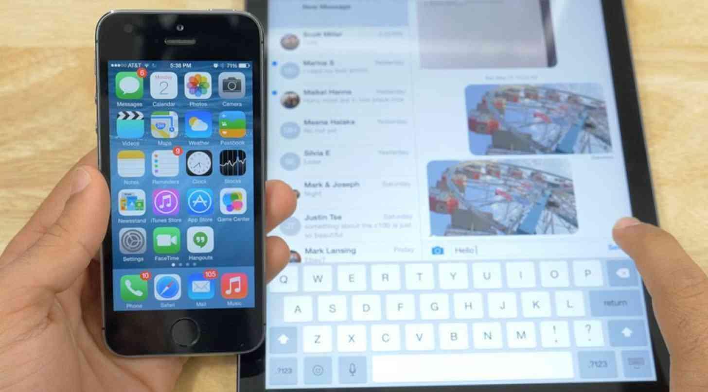 iOS 8 iPhone iPad