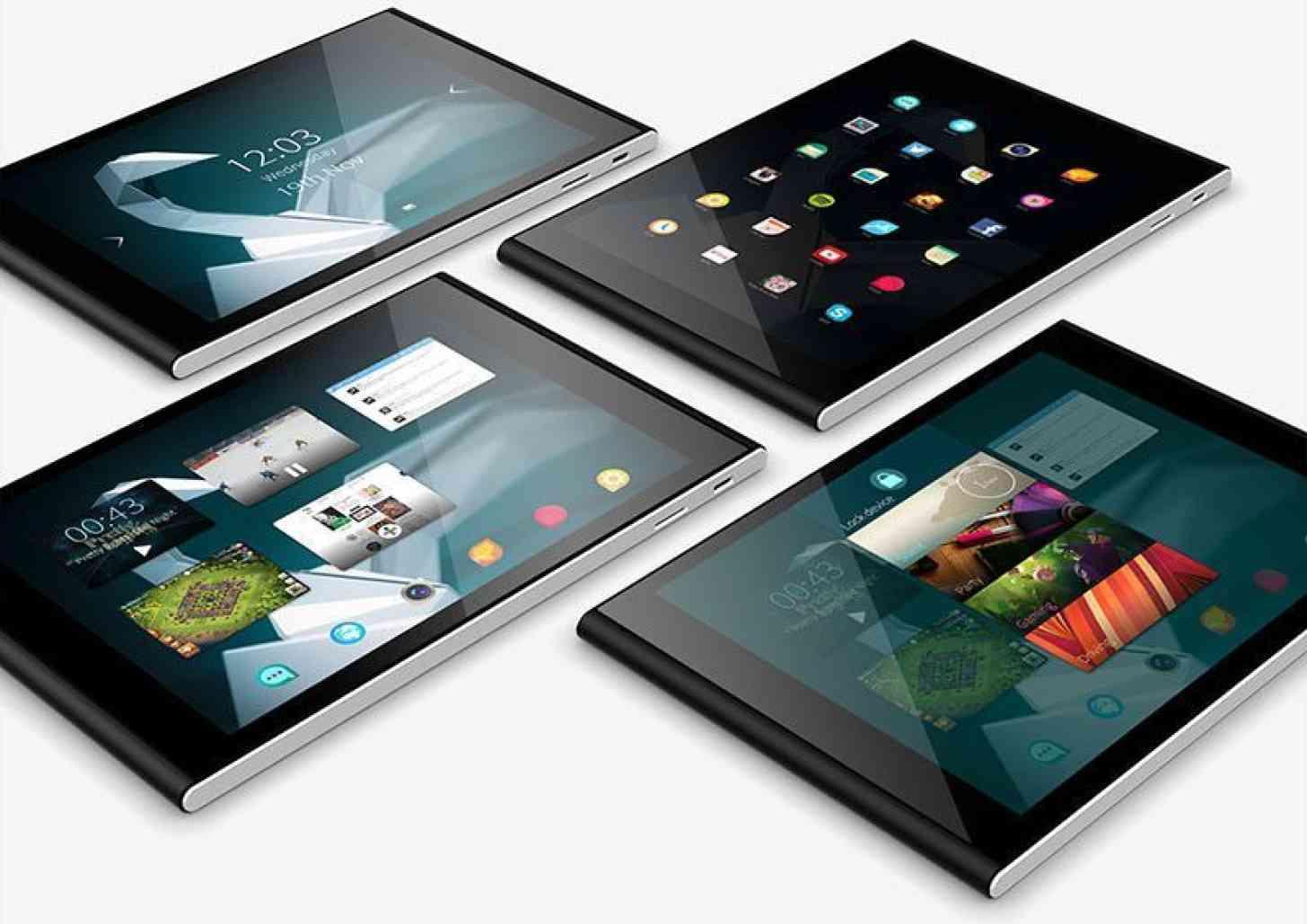Jolla Tablet screens