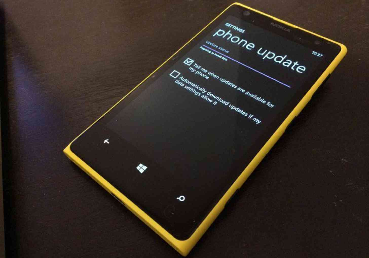 Nokia Lumia 1020 Phone Update