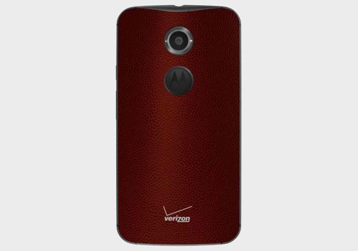Moto X (2nd Gen.) football leather Verizon