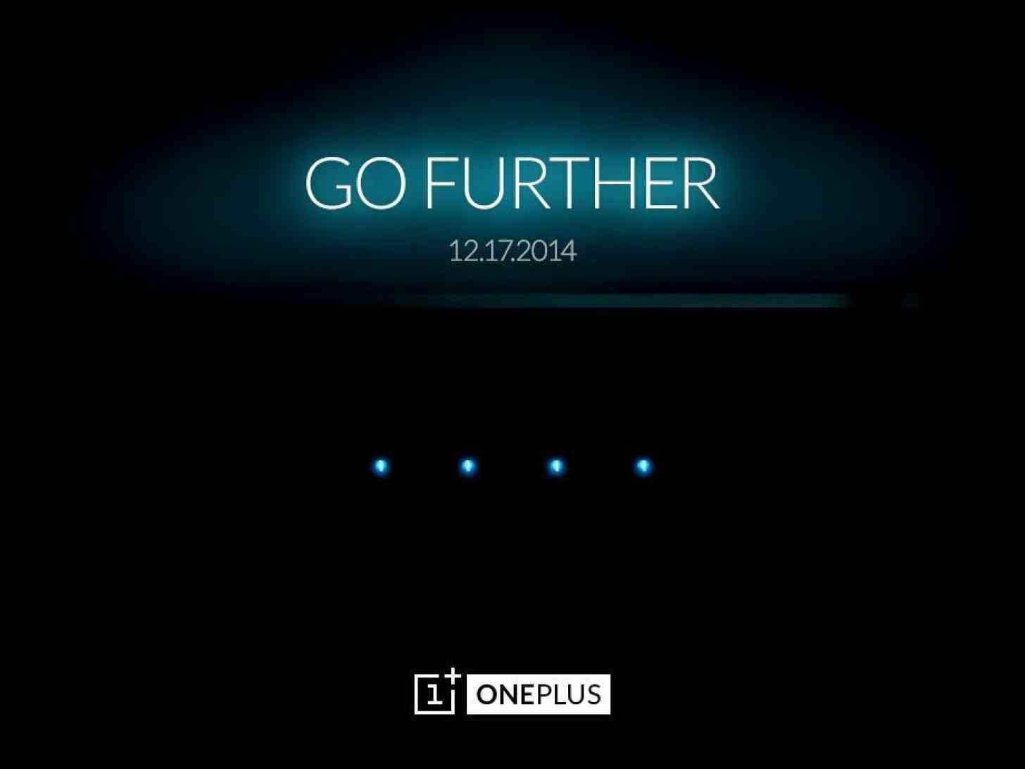 OnePlus December 17 Go Further teaser