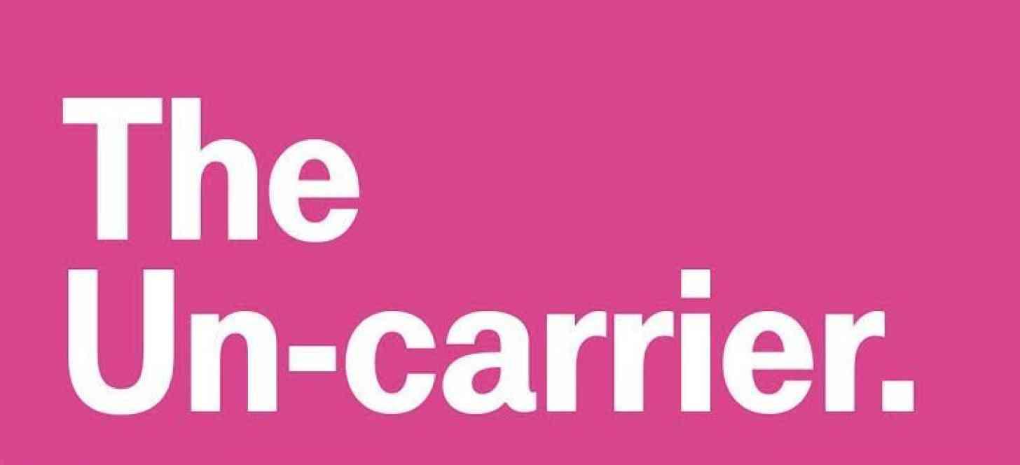 T-Mobile The Un-carrier logo magenta