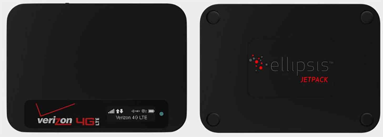 Verizon Ellipsis Jetpack 4G LTE mobile hotspot