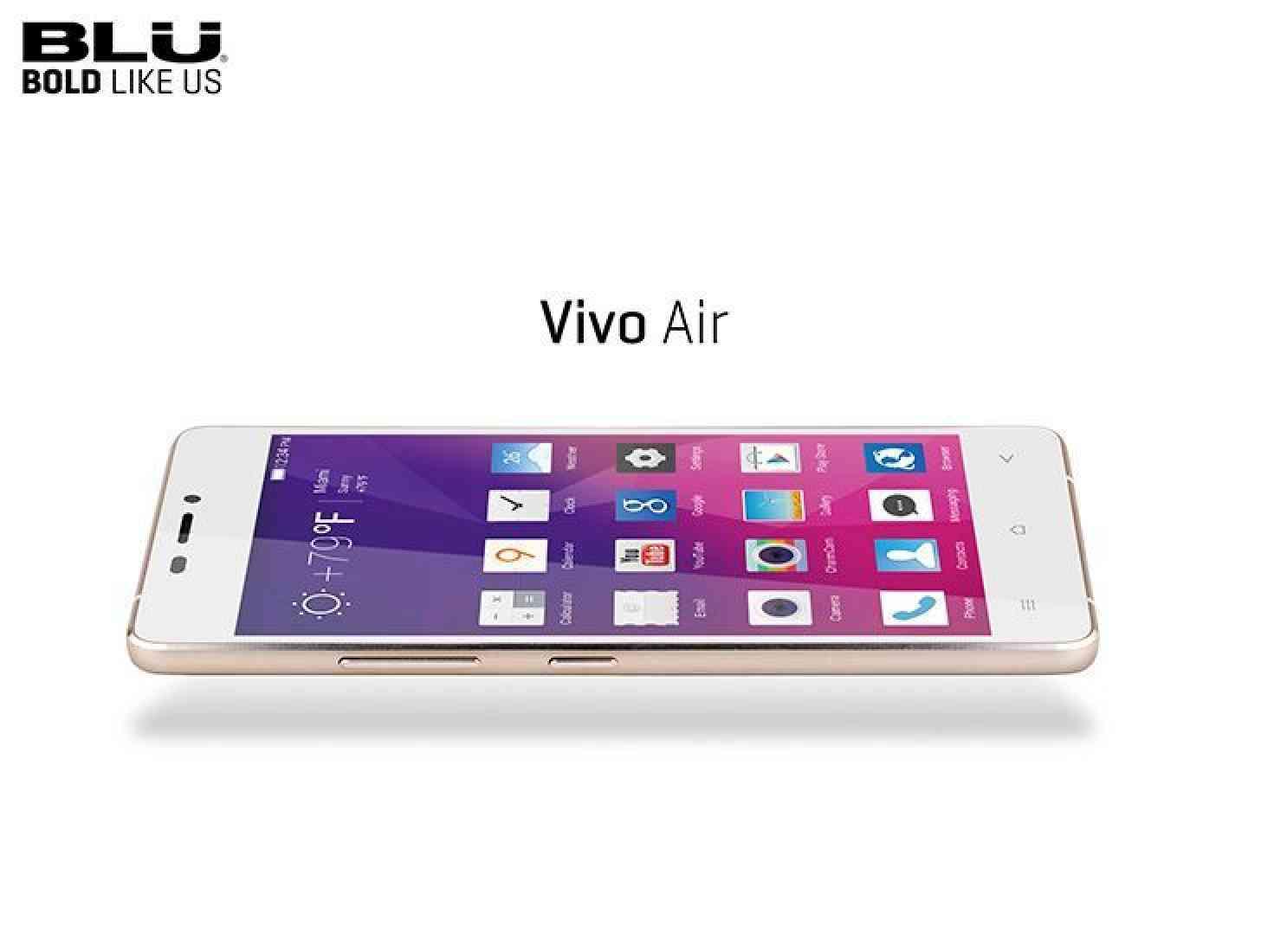 BLU Vivo Air official