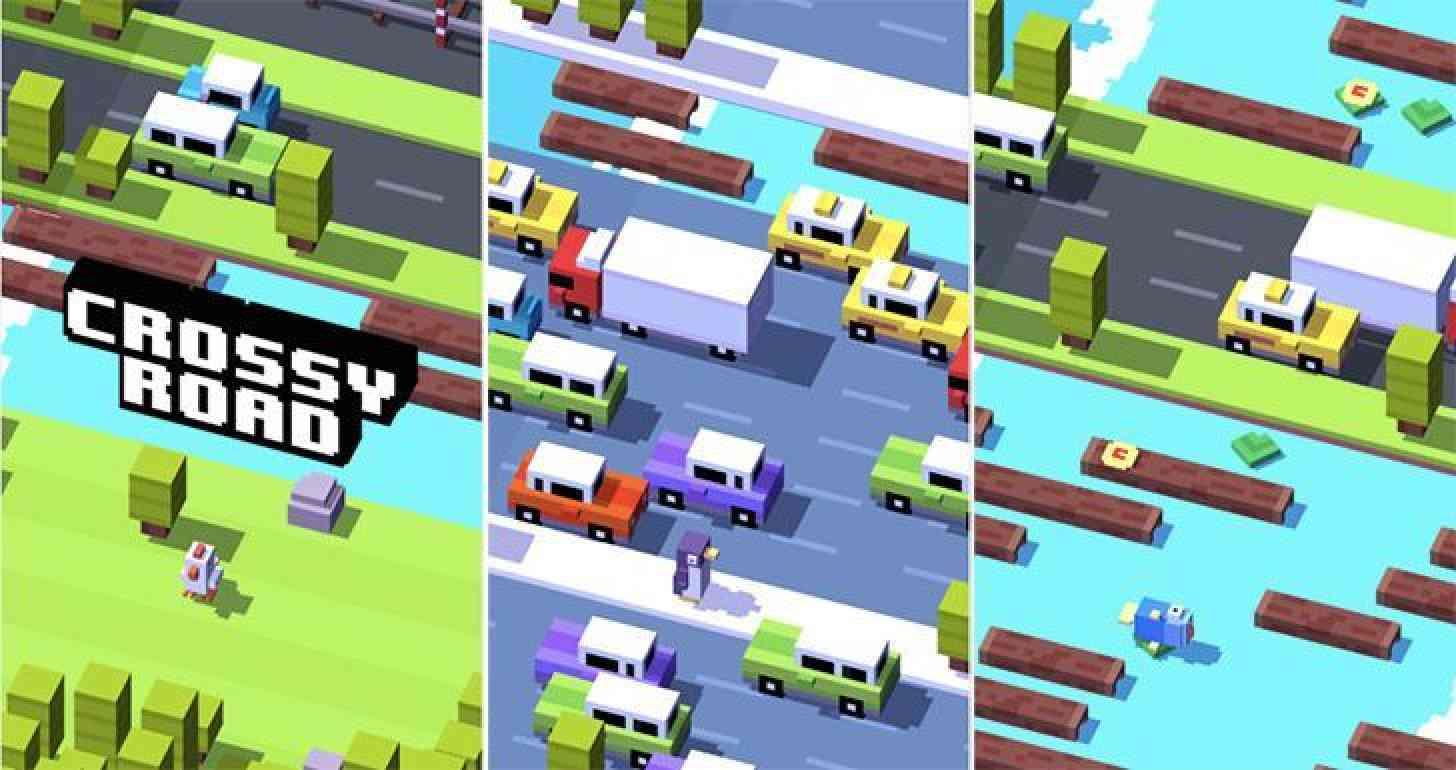 Crossy Road Android app screenshots