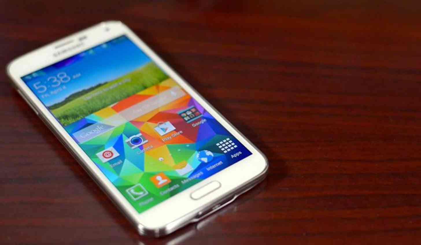 Samsung Galaxy S5 front