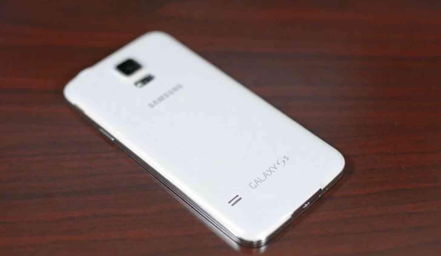 Samsung Galaxy S5 rear