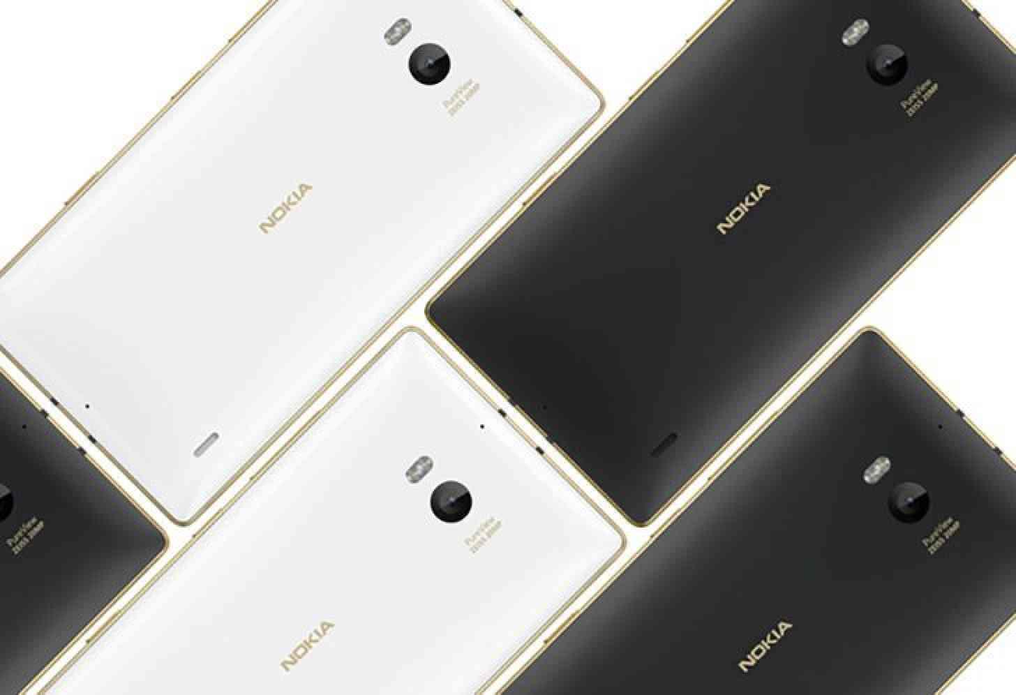 Gold Nokia Lumia 930 white, black official