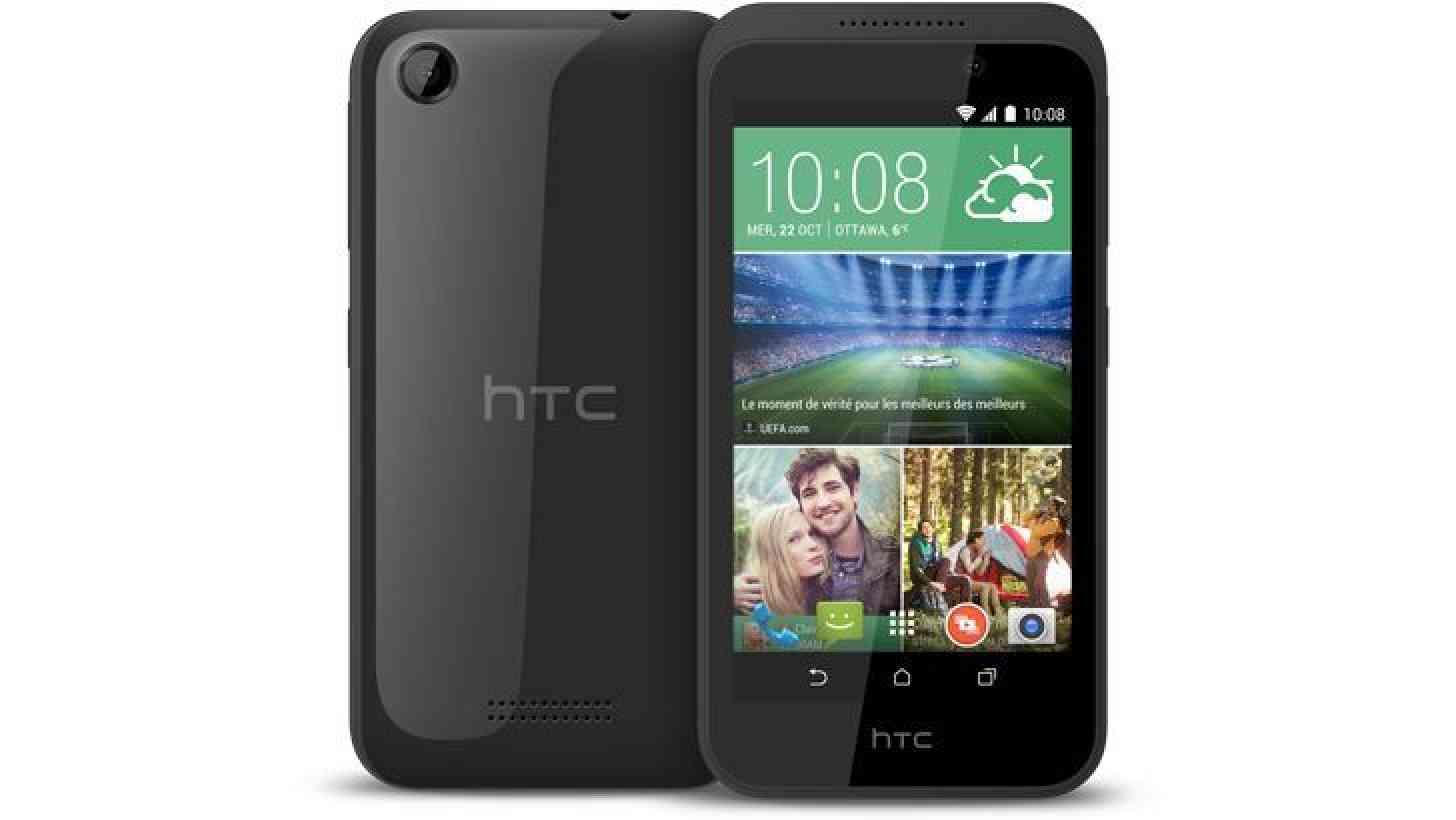 HTC Desire 320 official black
