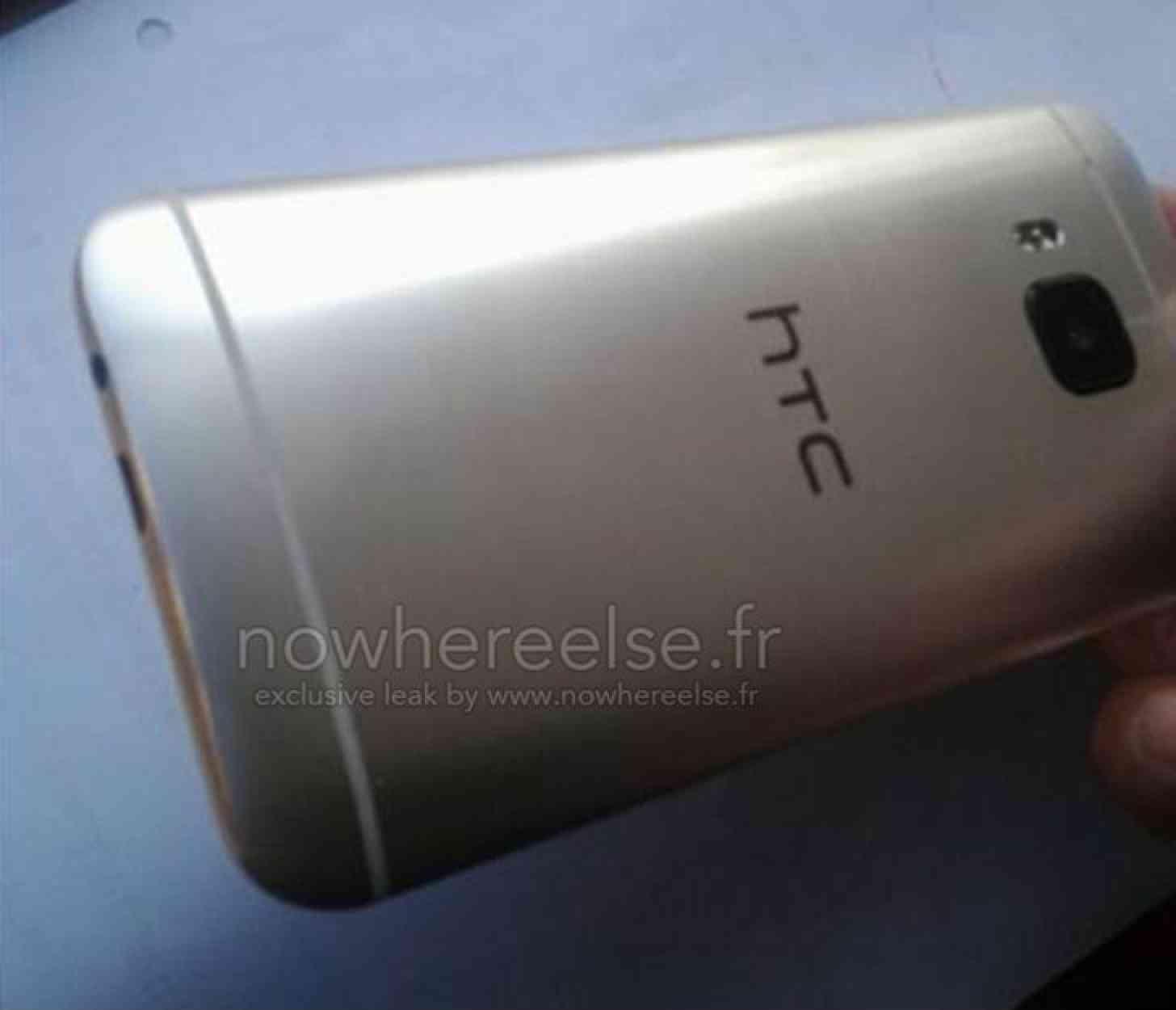 HTC One M9 Hima leak rear