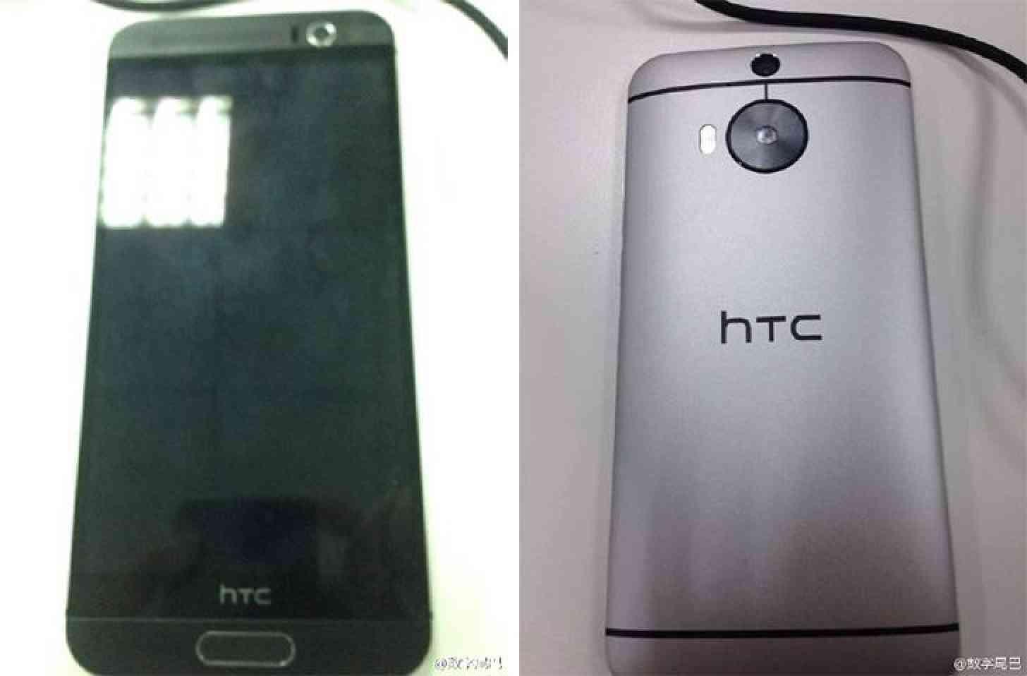 HTC One (M9) Plus images leak