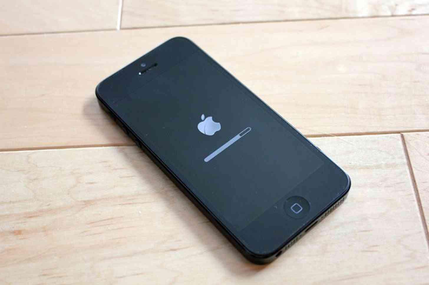 iOS update iPhone 5