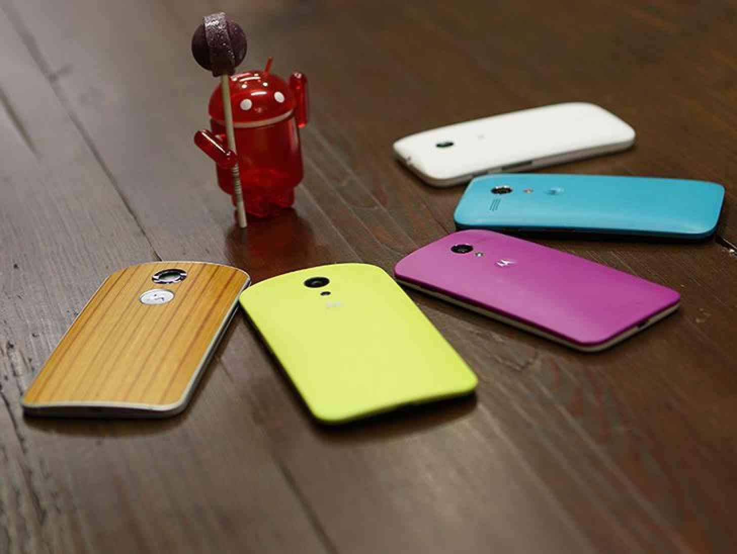 Motorola Android 5.0 Lollipop teaser