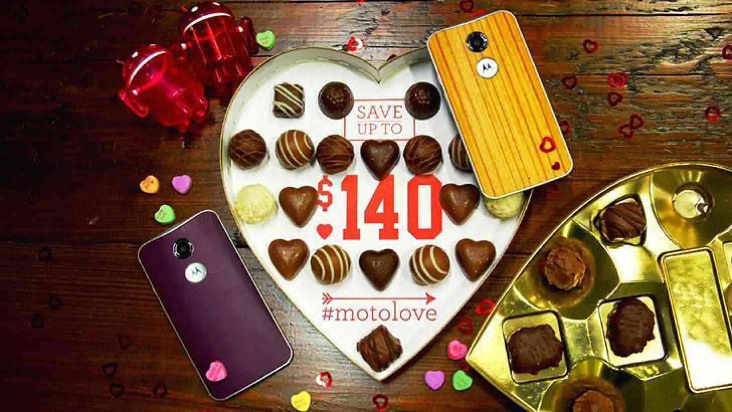 Motorola Valentine's Day promo