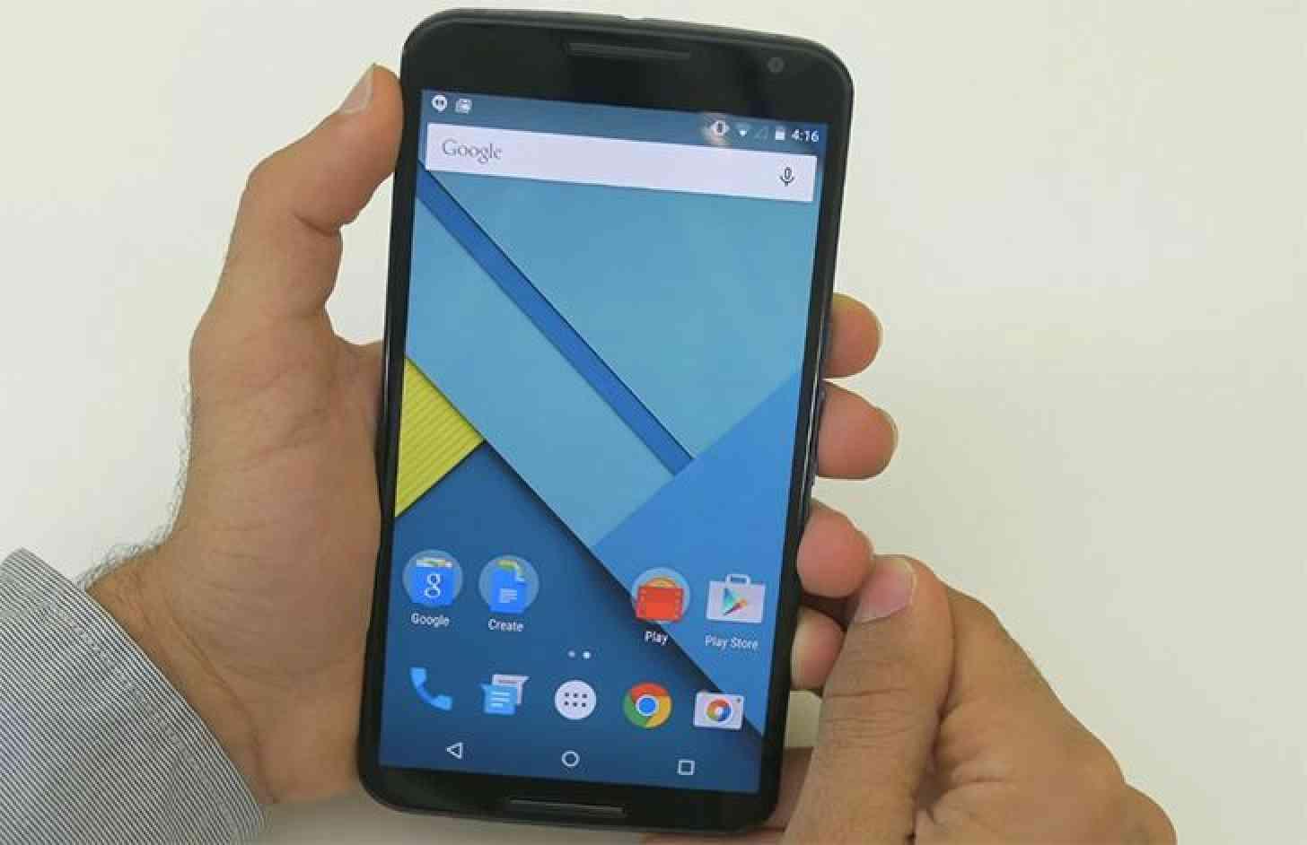 Google Nexus 6 hands on