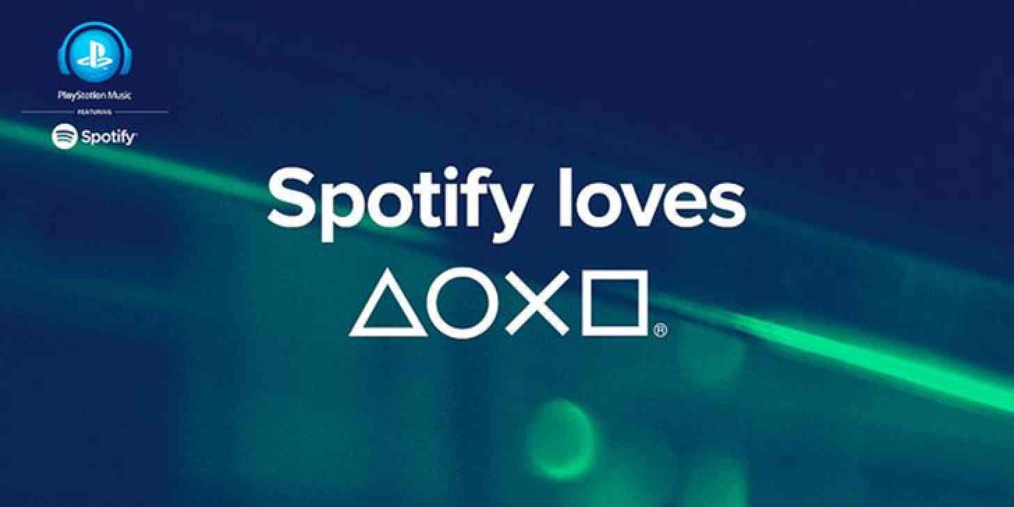 PlayStation Music Sony Spotify