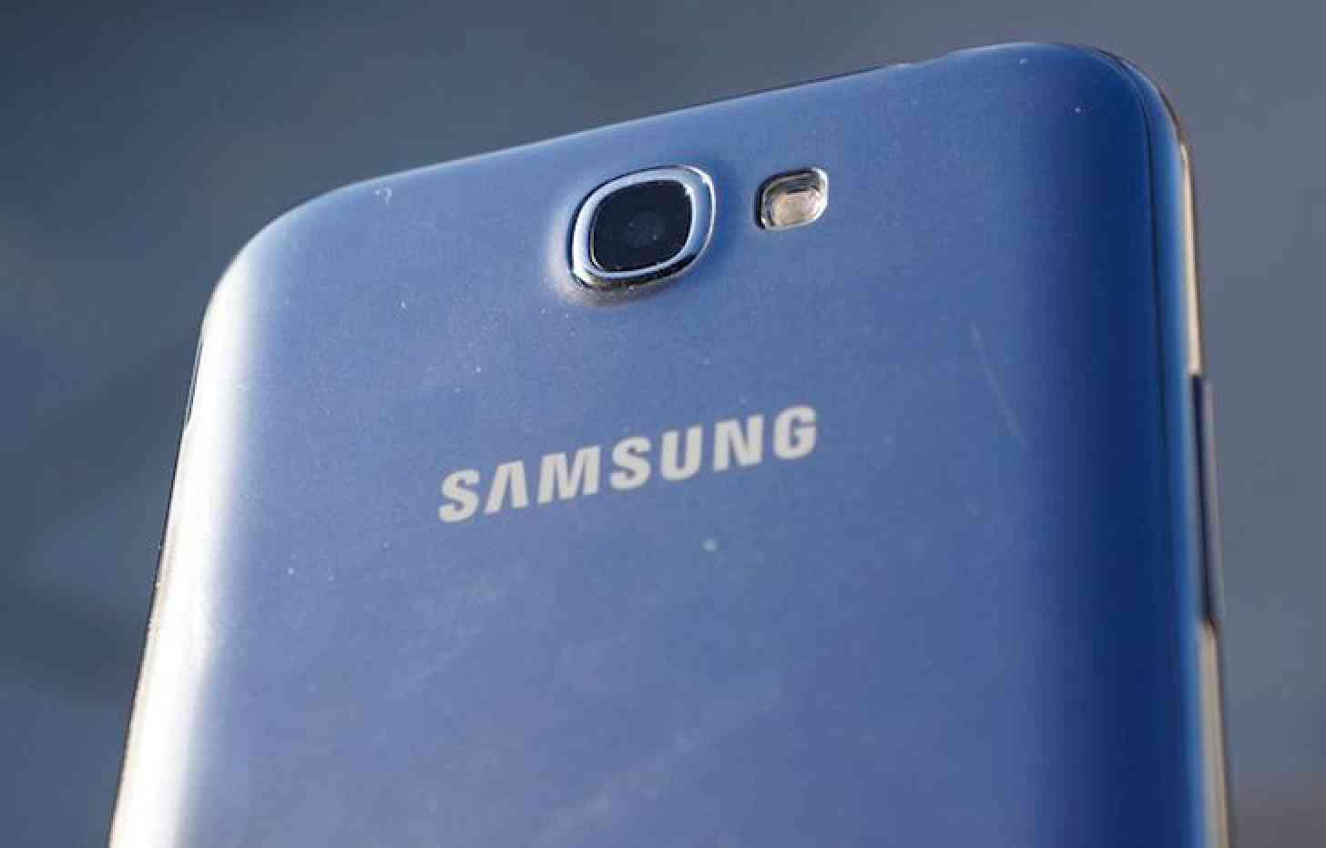 Samsung logo Galaxy Note II