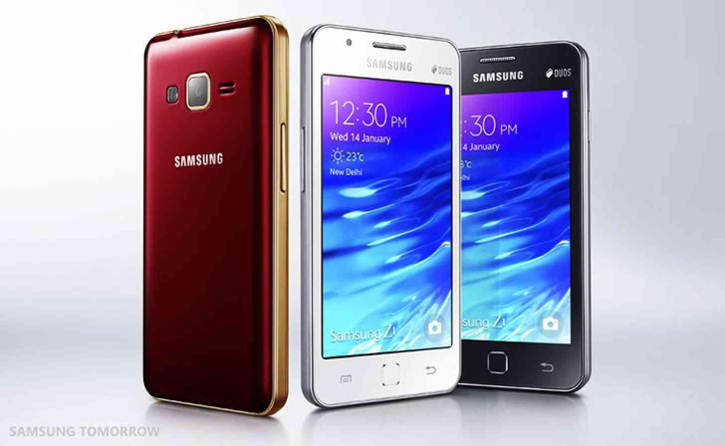 Samsung Z1 Tizen smartphone official