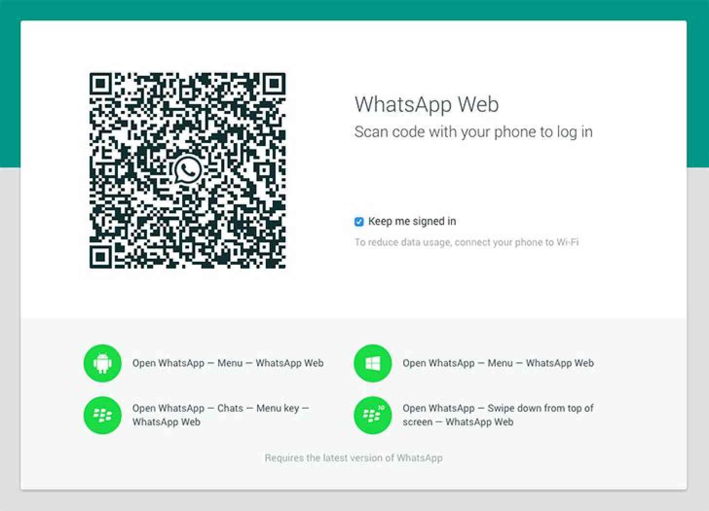 Whatsapp Qr Code Finden
