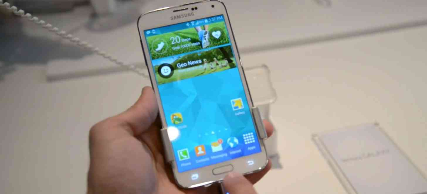 Samsung Galaxy S5 hands on