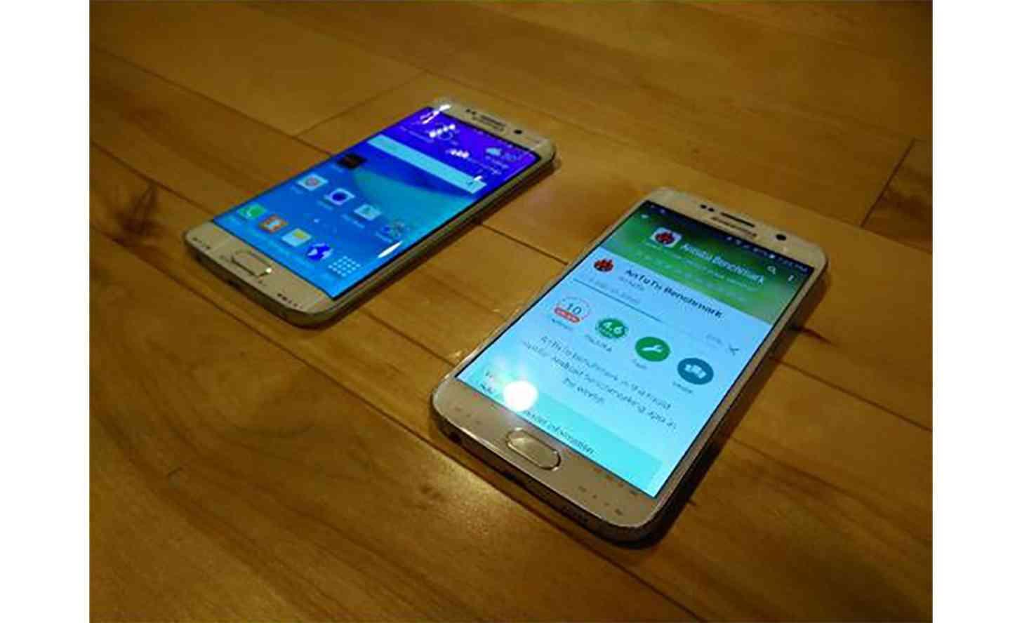 Samsung Galaxy S6, Galaxy S6 Edge front leak