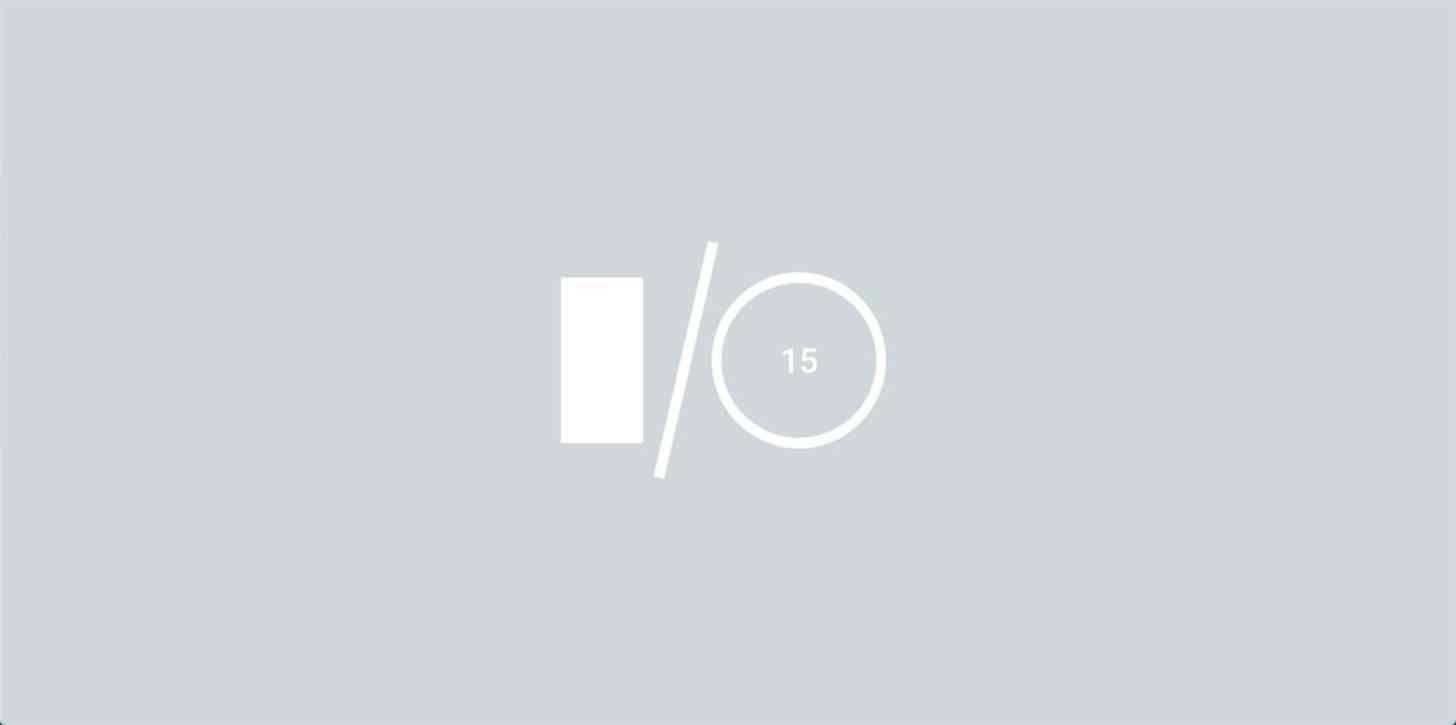 Google I/O 2015 gray logo