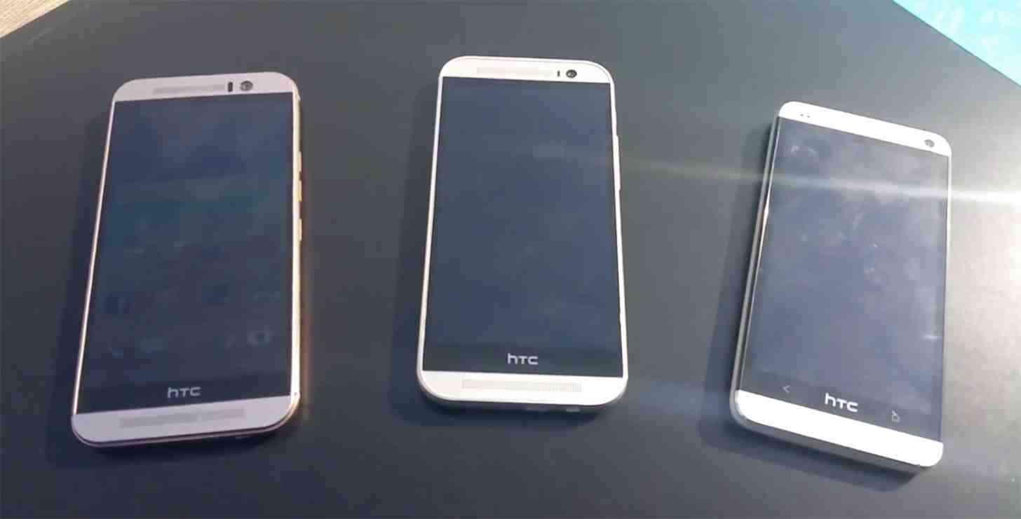 HTC One M9, M9, and M7