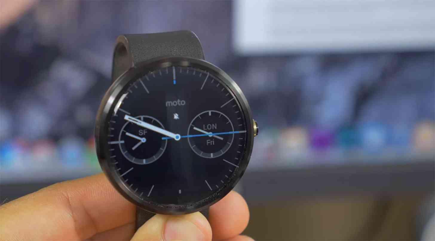 Moto 360 watch face