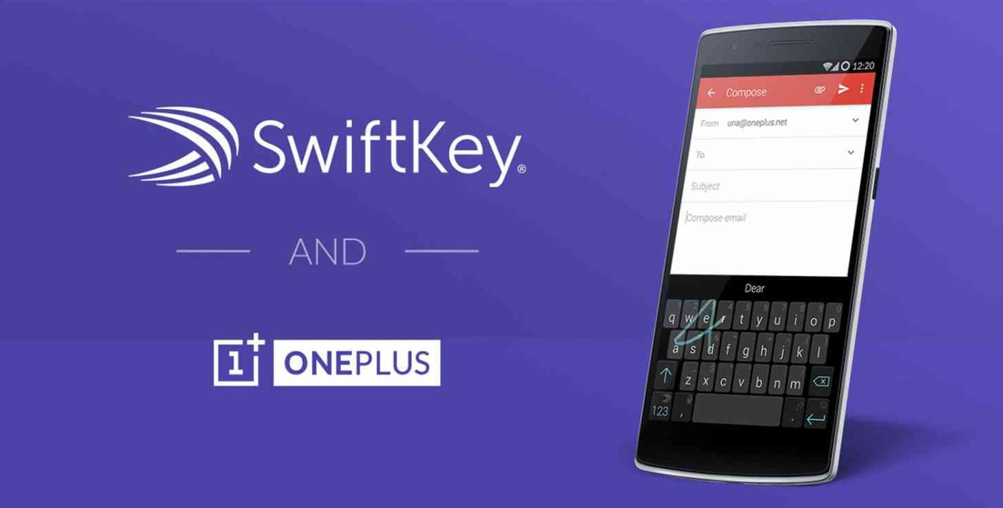 OnePlus One SwiftKey keyboard CyanogenMod 11S