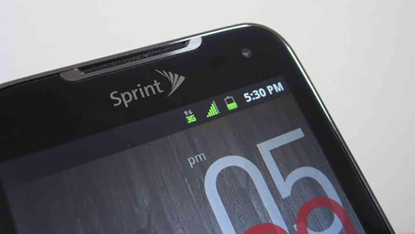Sprint logo LG Viper