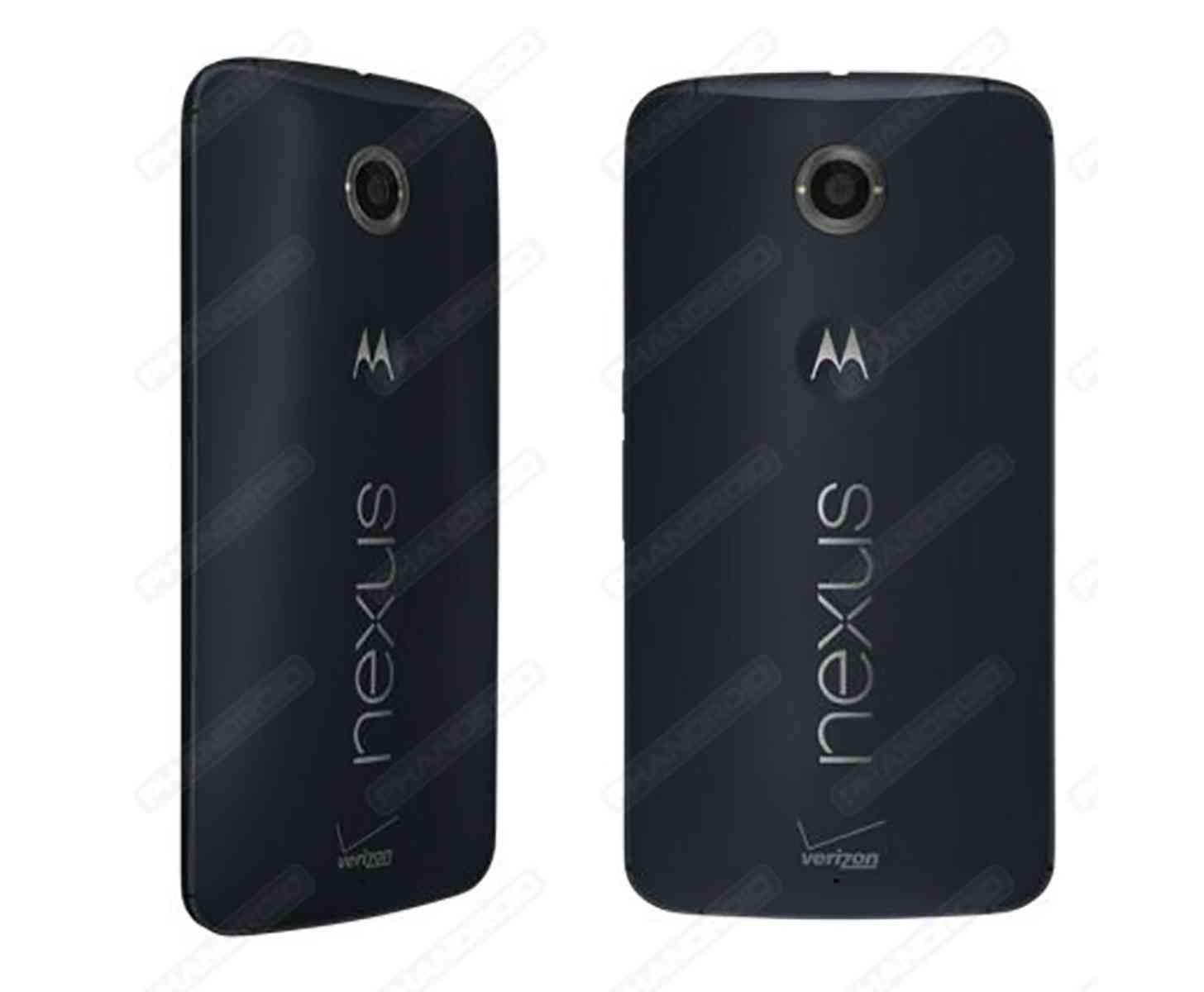 Verizon Nexus 6 carrier branding leak