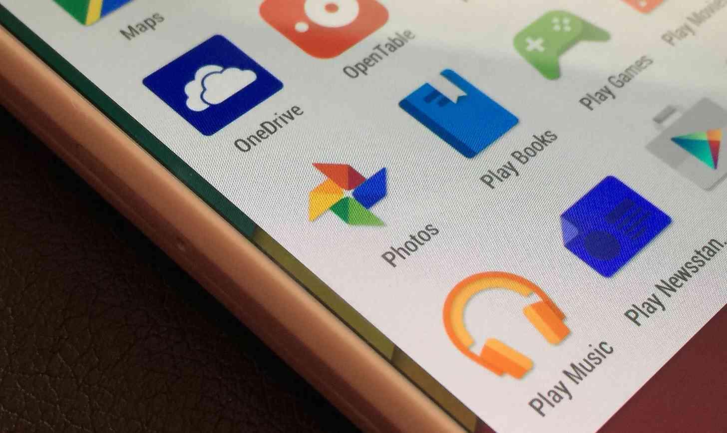 Android Google+ Photos app