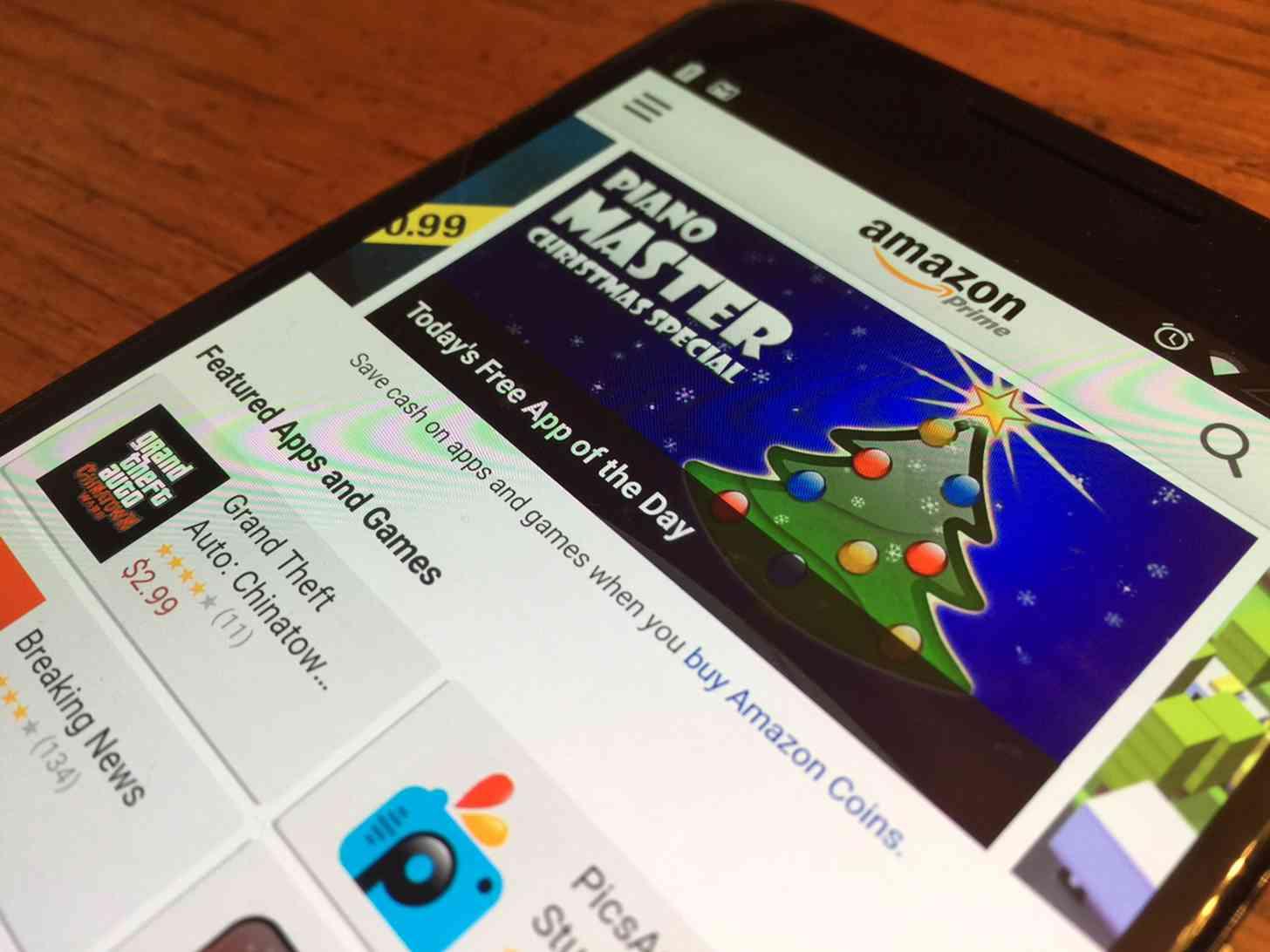 Amazon Appstore Nexus 6