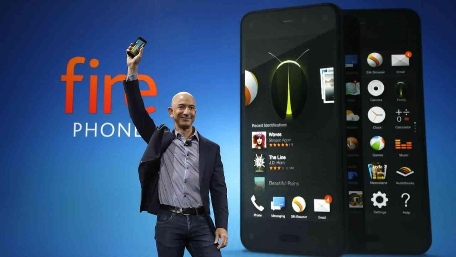 Jeff Bezos Amazon Fire phone