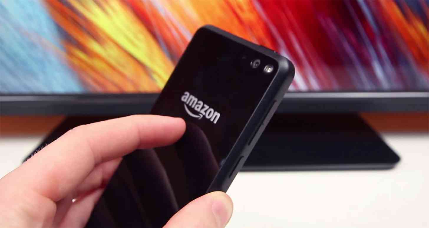 Amazon Fire phone rear