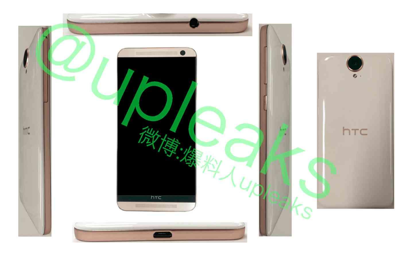 HTC One E9 image leak