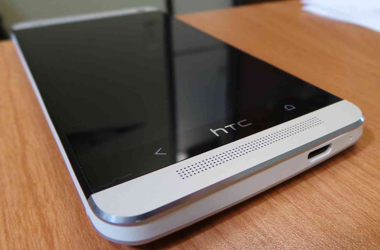 HTC One M7 closeup