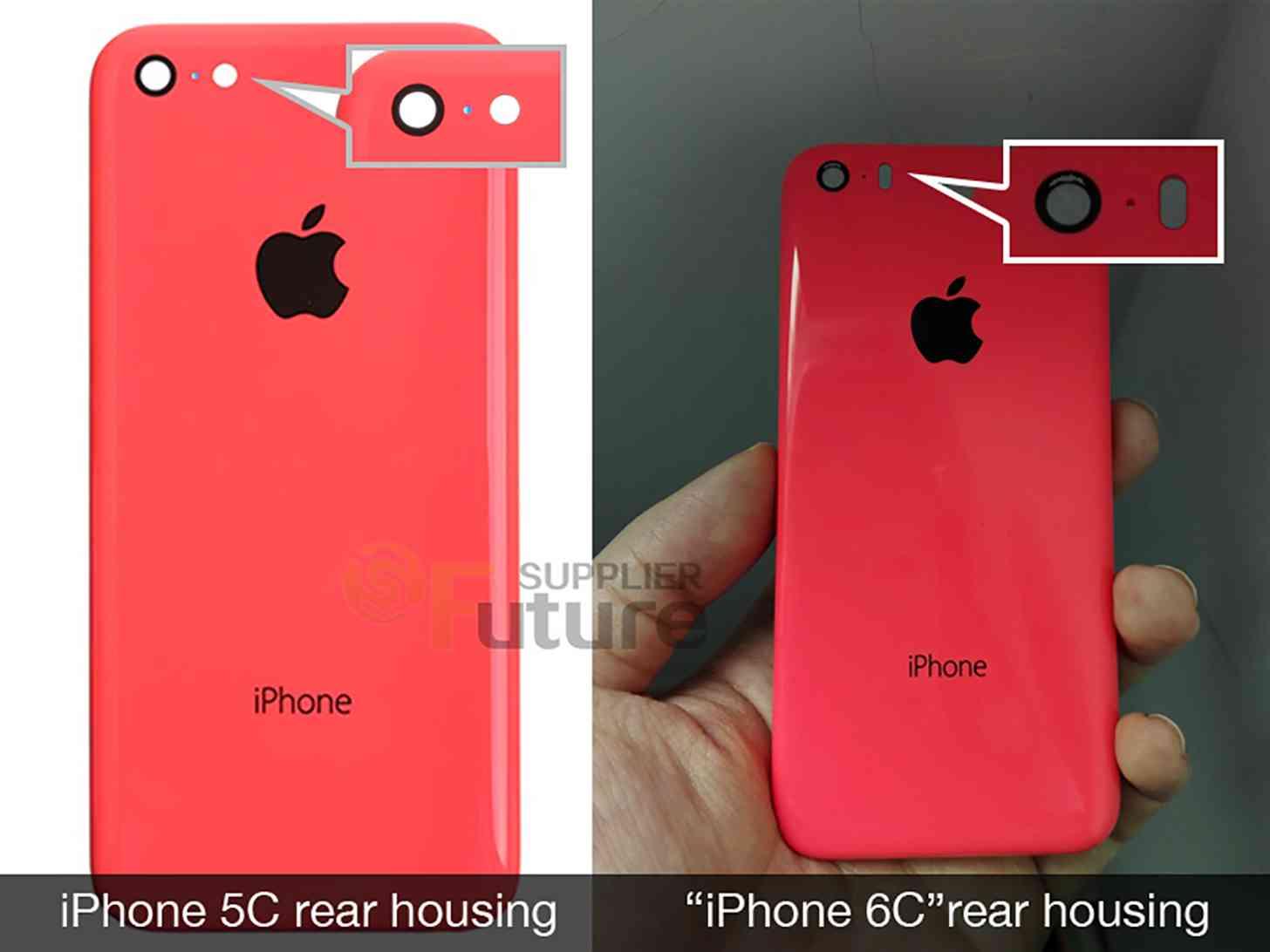 iPhone 6c rear shell leak