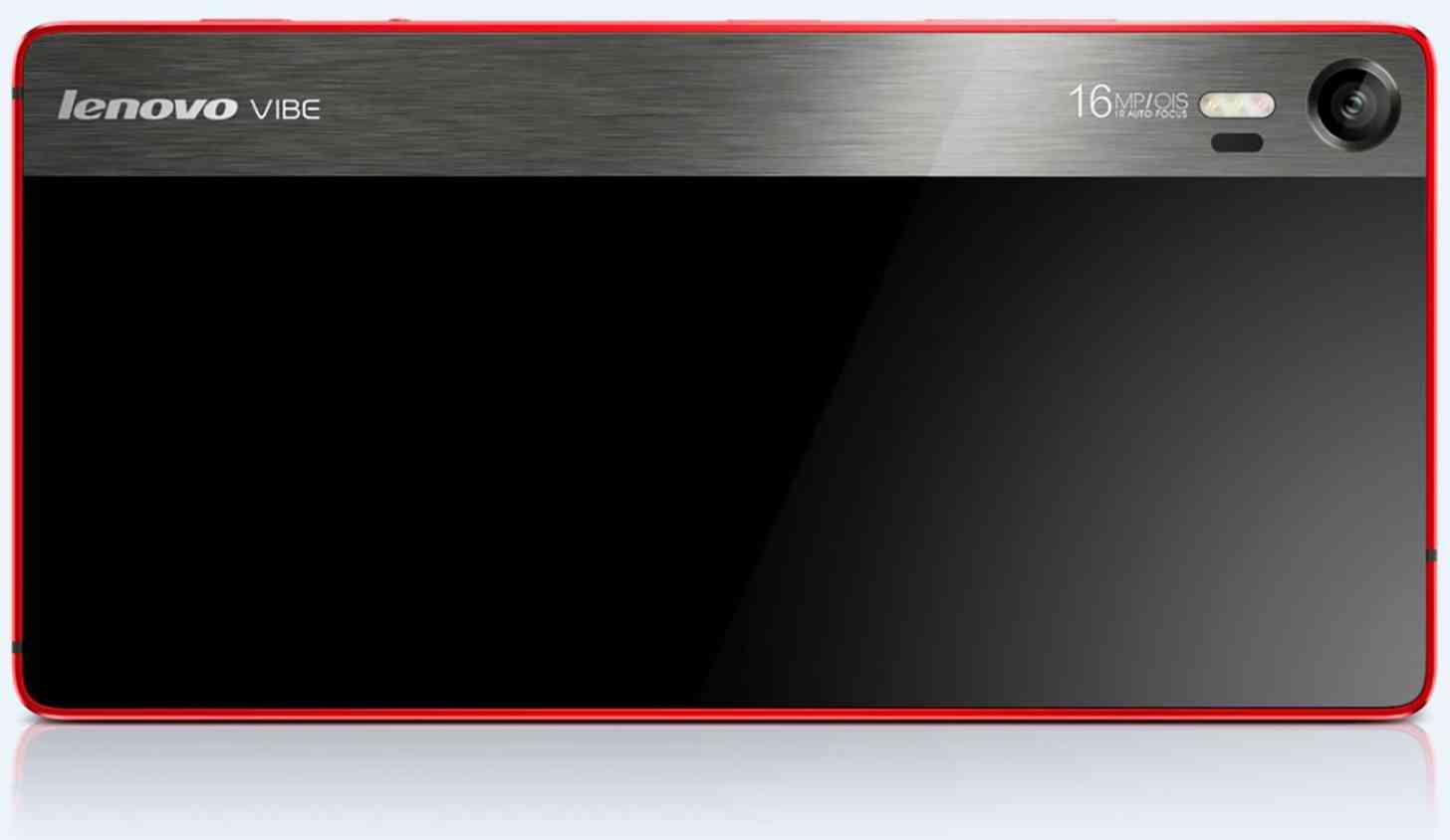 Lenovo Vibe Shot cameraphone rear official