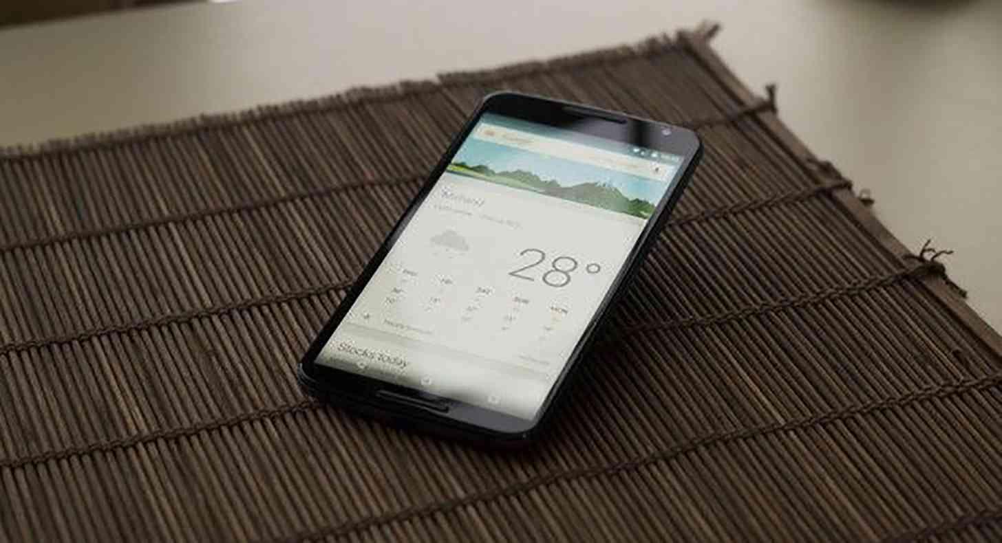 Nexus 6 Google Now