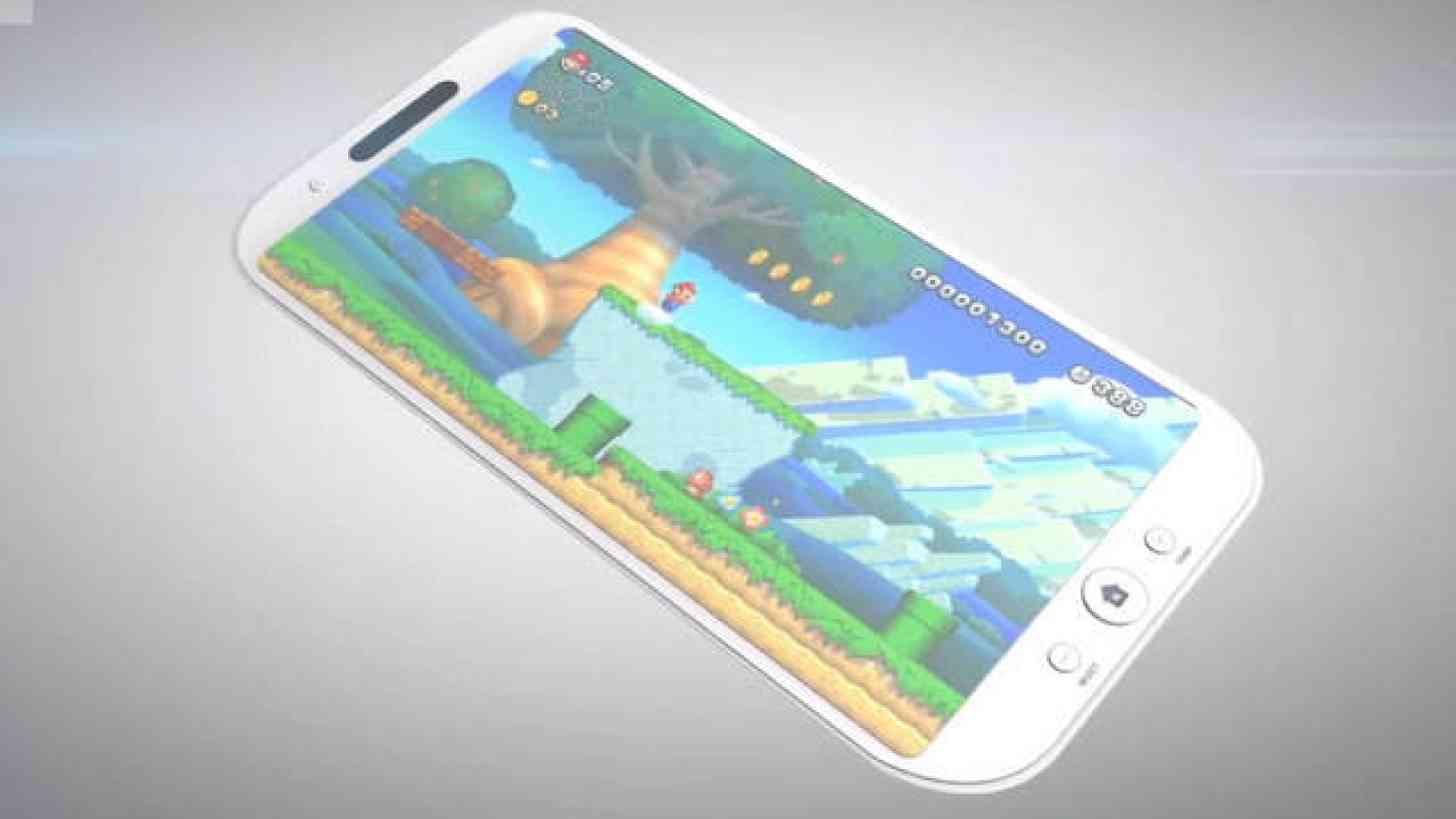 Nintendo on smartphone