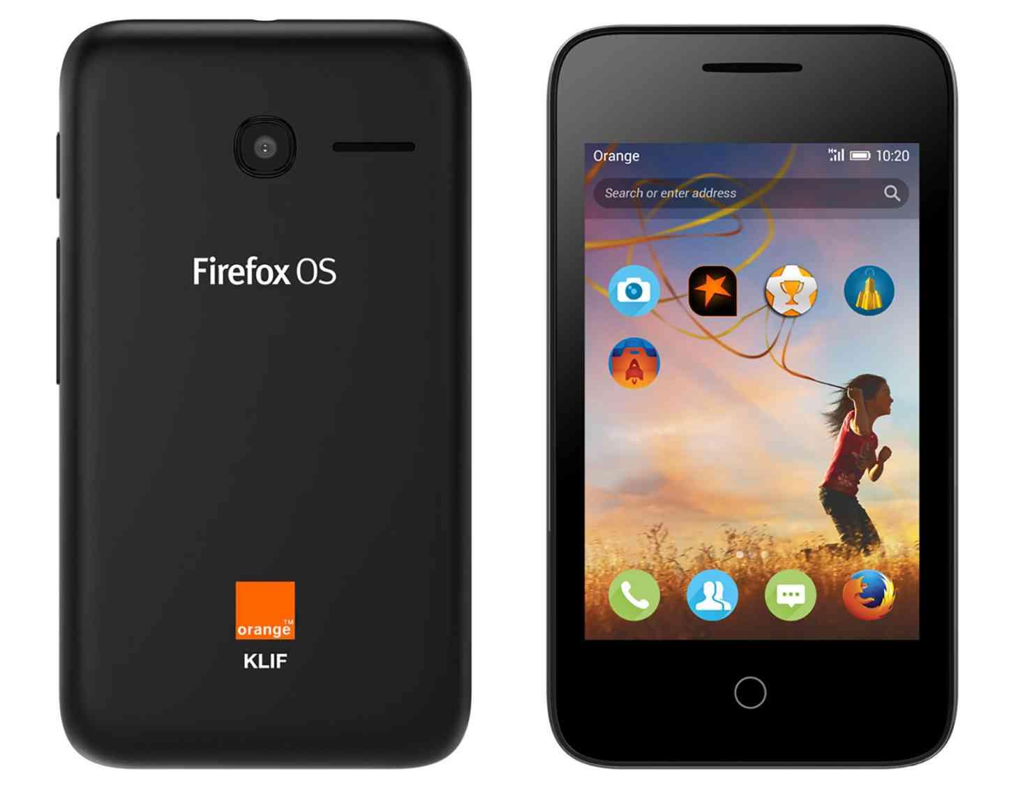 Orange Klif Firefox OS official