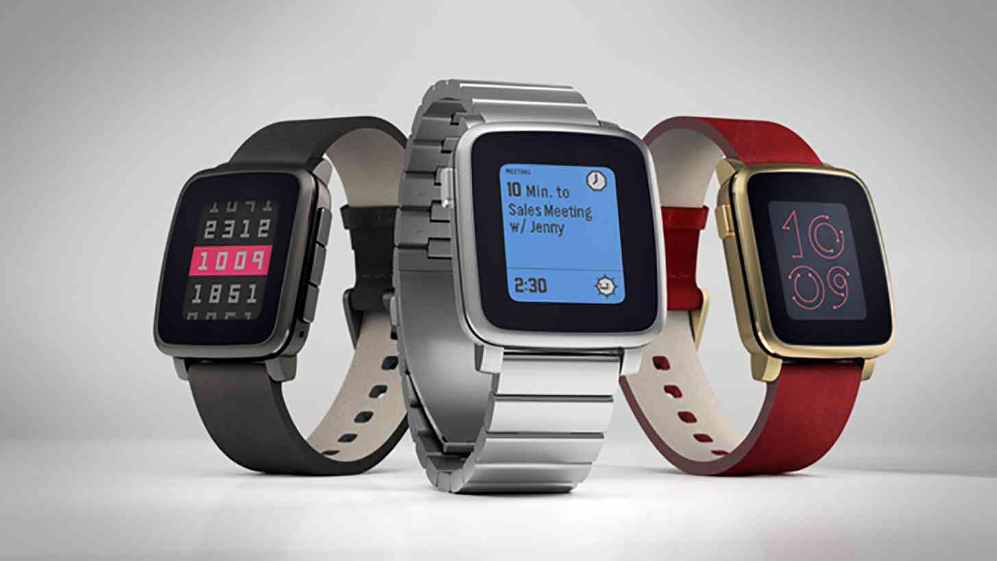 Pebble Time Steel official colors