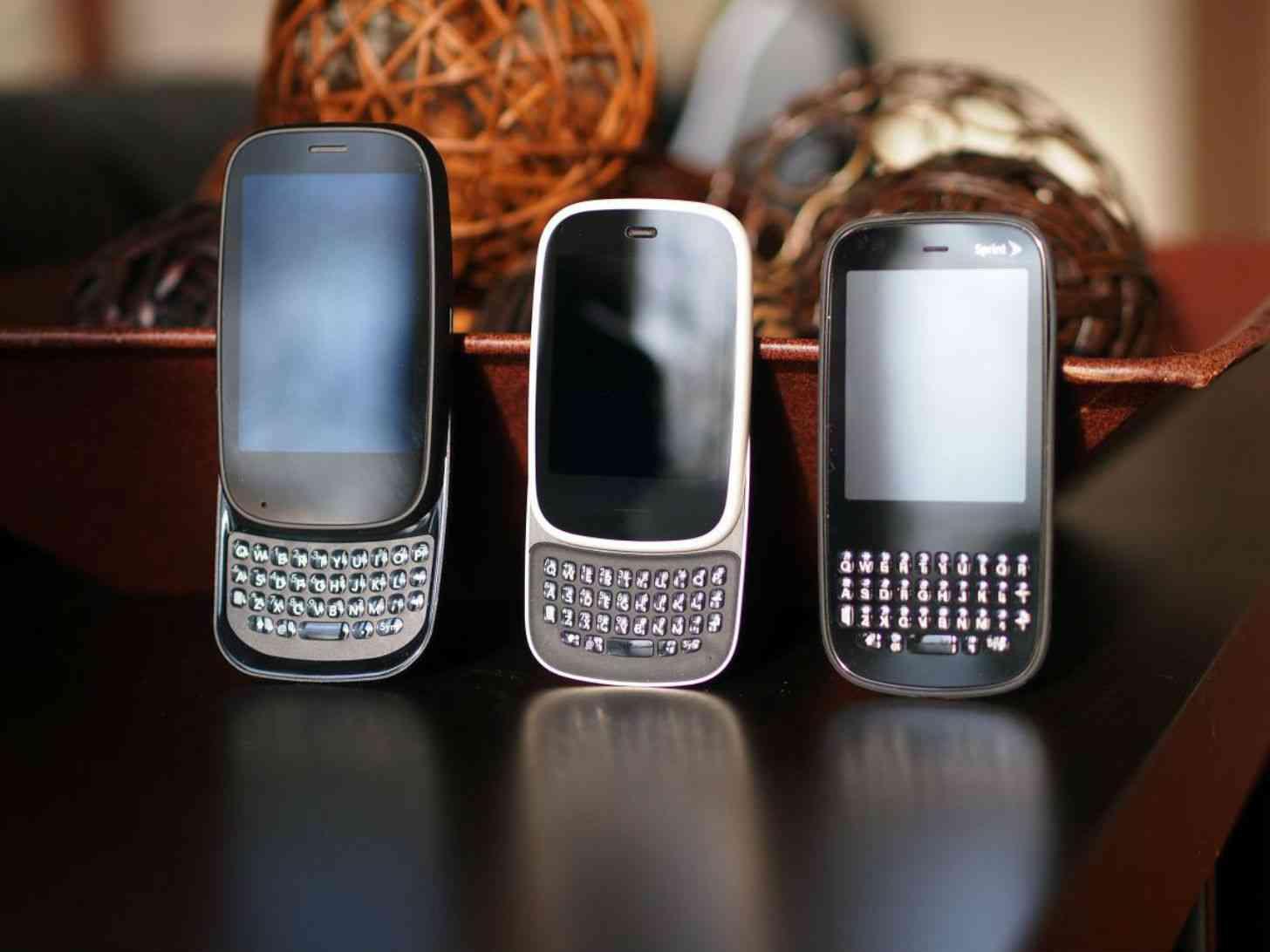 HP Pre 2, HP Veer, Palm Pixi