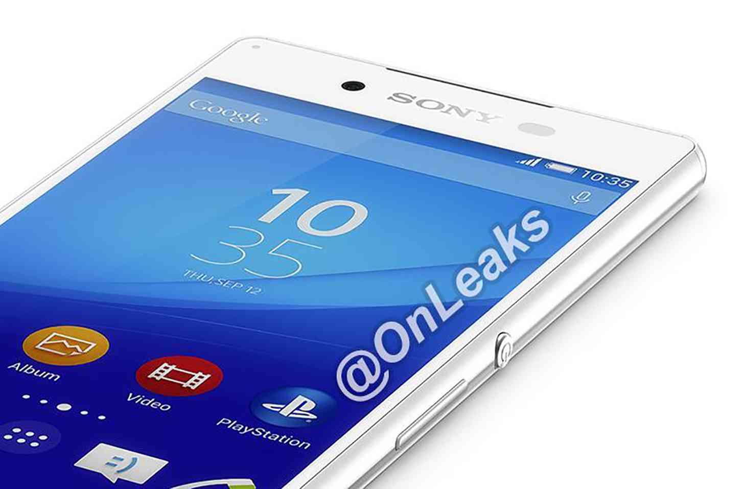 Sony Xperia Z4 leak white